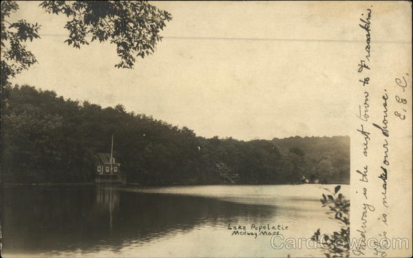 Lake Popolatic Medway Massachusetts