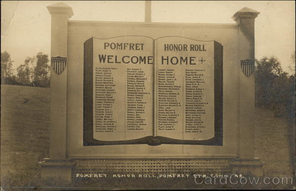 Pomfret Honor Roll Connecticut