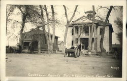 Churchill County Jail & Court House Postcard