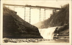Erie R.R. Bridge, Letchworth State Park