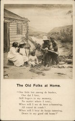 The Old Folks at Home Postcard