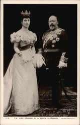 T. M. King Edward VII and Queen Alexandra