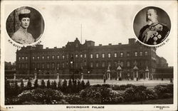 King Edward VII and Queen Alexandra - Buckingham Palace