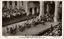 Coronation Procession 1911 and Admiralty Arch