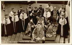 Coronation of Elizabeth II - The Homage, Westminster Abbey