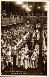 The Queen's Procession, Westminster Abbey