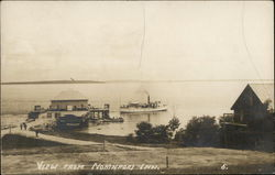 View from Northport Inn Postcard