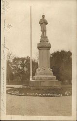 Soldiers' Monument; - Thrall Park, Middletown, N.Y.