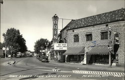 Main Street From Layco Street, Brin Theater