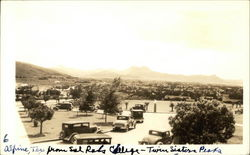 Alpine, Texas, from Sul Ross College