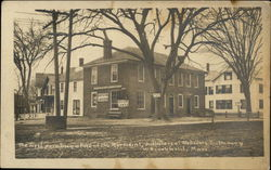 First Printing Office of Merriam's, Publishers of Webster's Dictionary Postcard