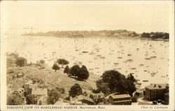 Birdseye View of Marblehead Harbor