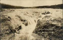 Outlet Lake Eara, Rockefeller Postcard