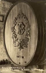 Beringer Bros. Winery Postcard