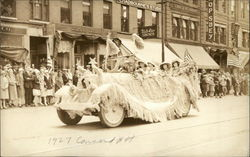 Carolina Club Float 1927