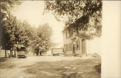 Maple Street & Streetcar/Train, Ernest Camp Store