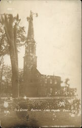 Old Stone Church Postcard