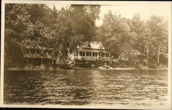Cabins on the Shore of Lake Zoar