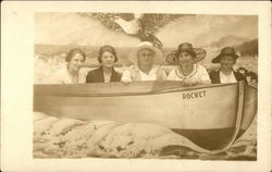 Five Women in Boat, The Murphy Studio