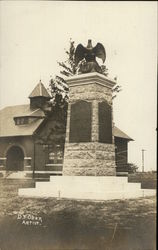 Monument with Eagle on Top