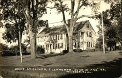 Home of Oliver Ellsworth Postcard