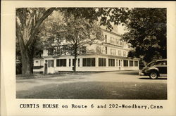 Curtis House on Route 6 and 202 Postcard