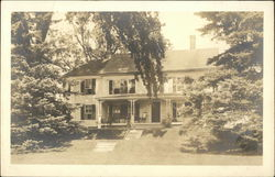 Large House with Yard and Trees