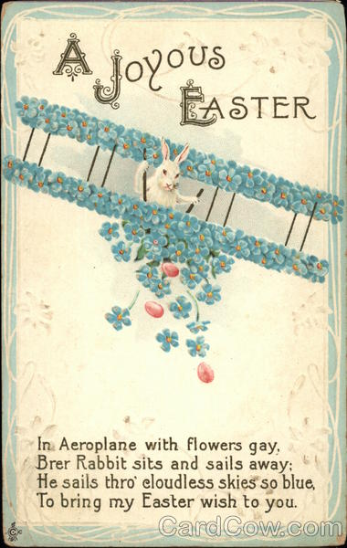 A Joyous Easter With Bunnies