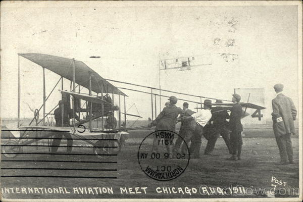 International Aviation Meet Chicago, August 1911 Illinois