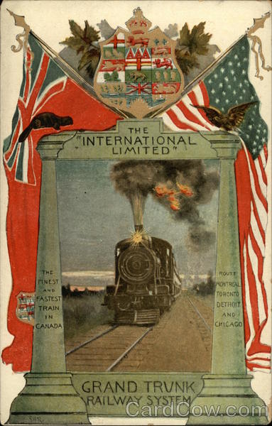 The International Limited Trains, Railroad