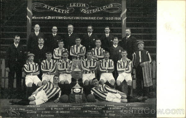 Leith Athletic Football Club - Soccer Scotland