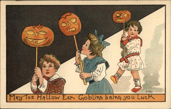 May the Halloween Goblins Bring You Luck H.B. Griggs (HBG)