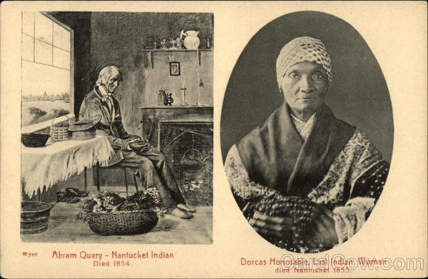 Abram Quary and Dorcas Honorable Native Americana