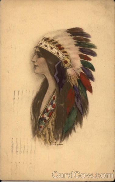 Woman Native American Native Americana