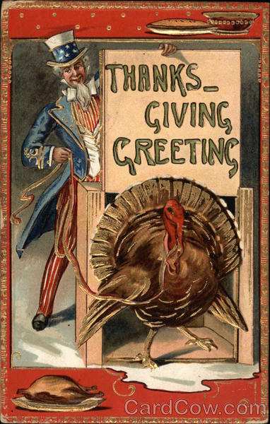 Thanksgiving Greeting Patriotic
