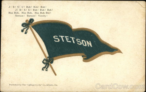 Stetson University Pennant (JBSU) DeLand Florida Universities