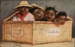 Black Children in Box