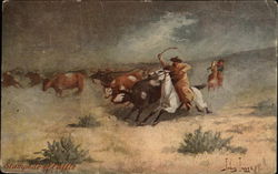 Stampede of Cattle