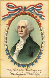 President Washington in Frame of Stars