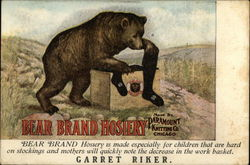 Bear Brand Hosiery Paramount Knitting Co. Chicago