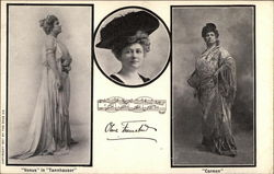 Olive Fremstad Photos in Operatic Costumes