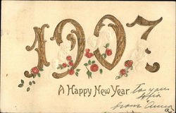 A Happy New Year, 1907