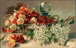Still Life with Cherries and Blossoms