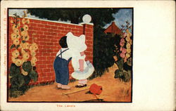 The Lovers - Two Children Kissing