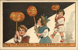 May the Halloween Goblins Bring You Luck