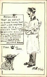 Buster Brown Comic Featuring Tige