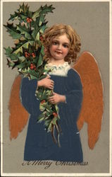 Child Angel with Holly