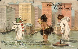 Valentine Greetings - Three Slumberland Characters