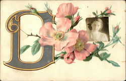 "Letter ""D"" and Roses"
