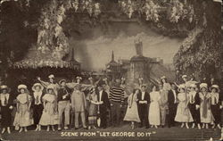 "Scene from ""Let George Do It"""